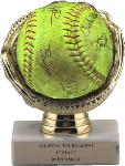 Commemorative Softball Display Award